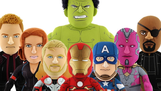 Illustration for article titled All It Takes Is A Nose To Make These AvengersPlushes Hilariously Weird