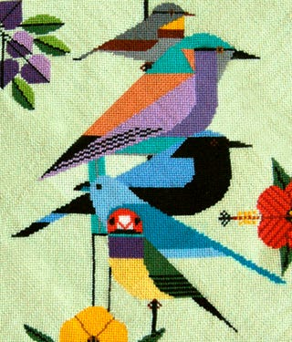 Illustration for article titled I AM GOING TO NEEDLEPOINT THIS THING, DAMMIT, IF IT KILLS ME