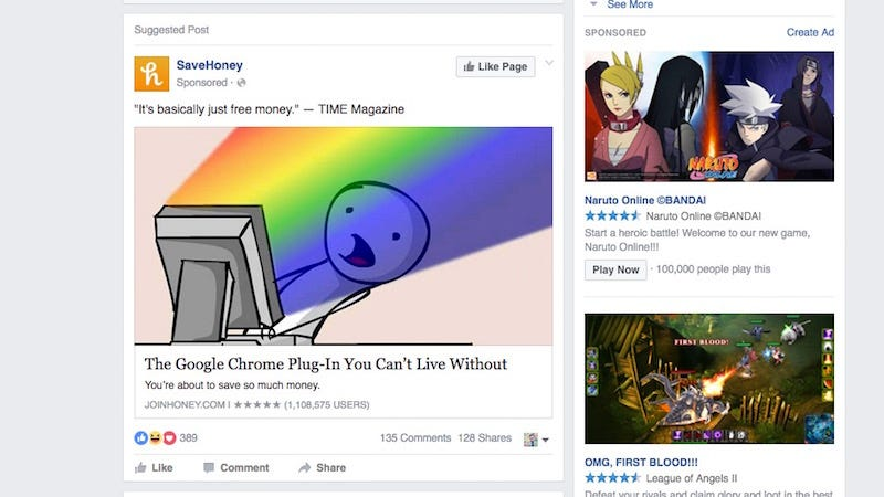 Illustration for article titled Facebook Now Blocks Ad Blockers