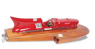 Illustration for article titled Ferrari Arno XI Hydroplane Is Remote Controlled, Costs Two Grand