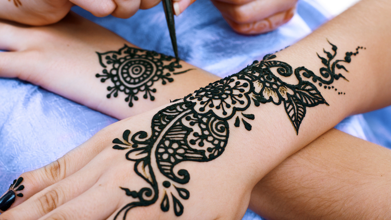 Why You Should Avoid Black Henna Tattoos