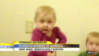 Illustration for article titled Miracle Baby Who Survived the Tornado That Killed Her Family Has Died