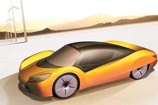 Illustration for article titled Rinspeed iChange Transforming Concept To Debut At Geneva