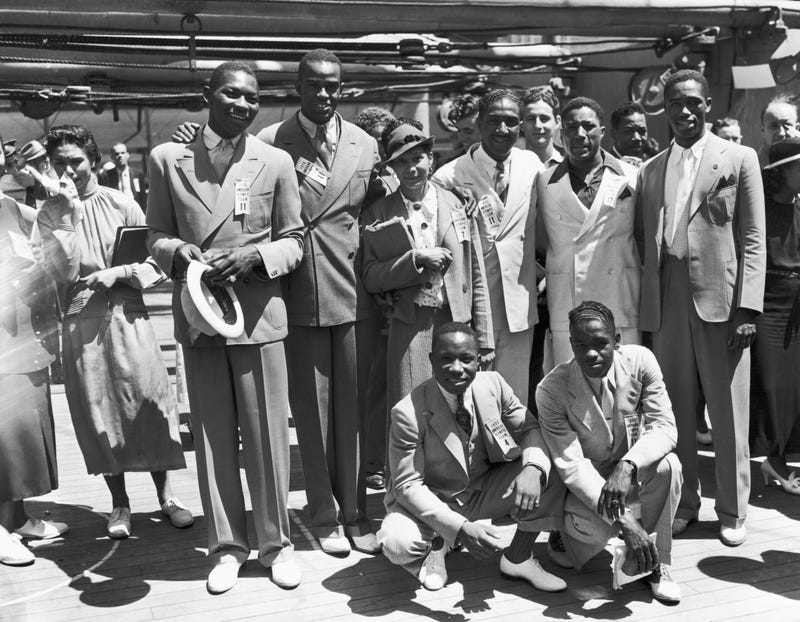 The black Olympians who performed at Berlin in 1936 are the subject of a new documentary, Olympic Pride, American Prejudice.Coffee Bluff Pictures