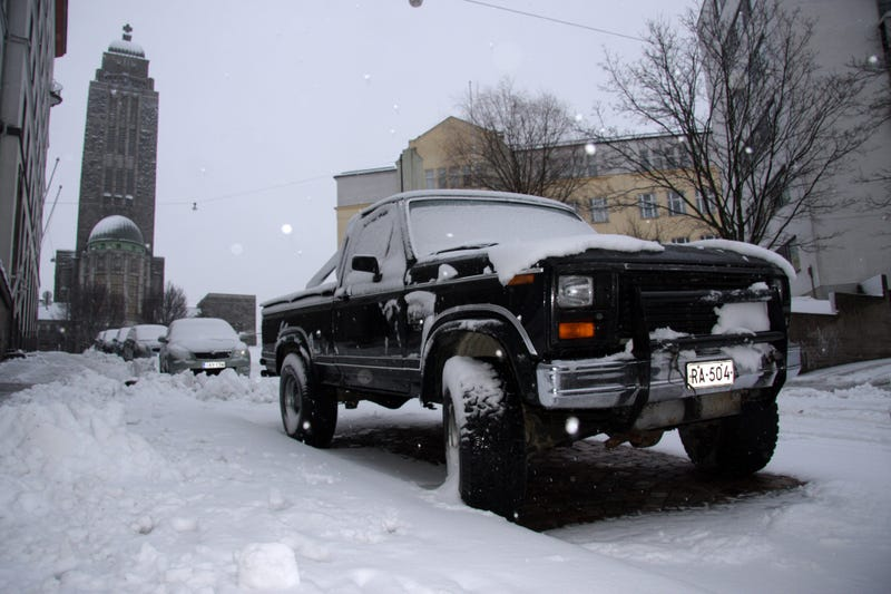 Illustration for article titled Greetings From Helsinki: Ford F-250 7.5 Edition