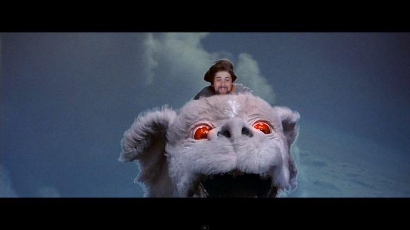 Illustration for article titled A new music video somehow makes The NeverEnding Story more frightening