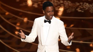 Chris Rock speaks onstage during the 88th annual Academy Awards at the Dolby Theatre in Hollywood, Calif., on Feb. 28, 2016.Kevin Winter/Getty Images