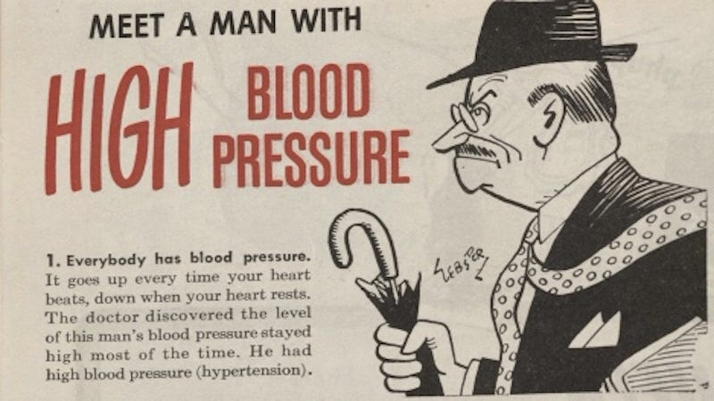 Illustration for article titled When America's Big Medical Worry Was 'The Busy Man'