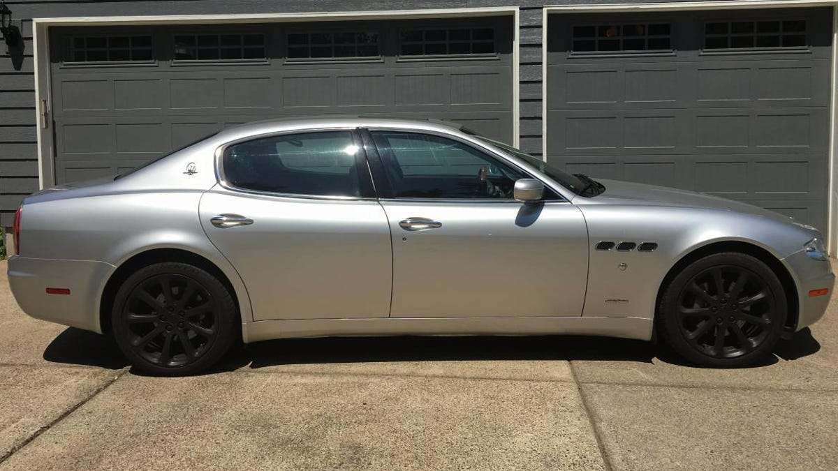 For $17,500, Is This 2006 Maserati Quattroporte Worth It For The Exhaust  Note Alone?