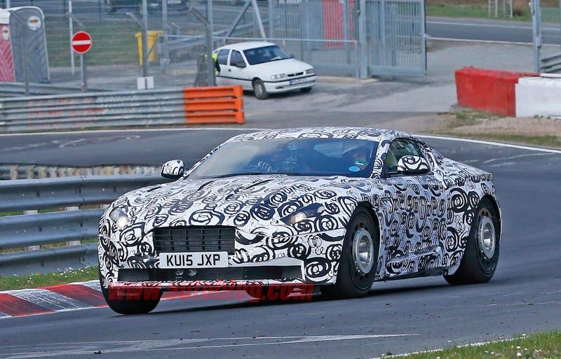 Illustration for article titled Aston Martin onsteelies