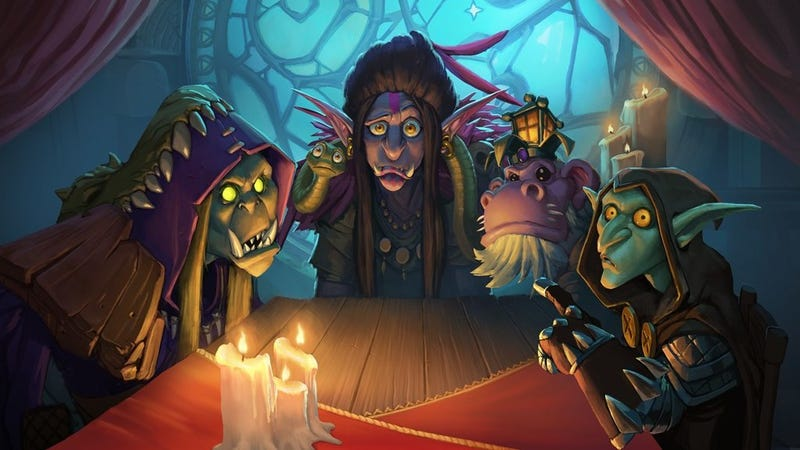 Illustration for article titled Hearthstone's New Expansion Is Bringing The Game Back To Its Roots