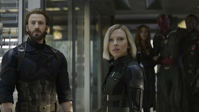 The Avengers crew, excited to find out what happened to their friends, presumably.