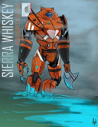 Illustration for article titled I Made Myself A Jaeger
