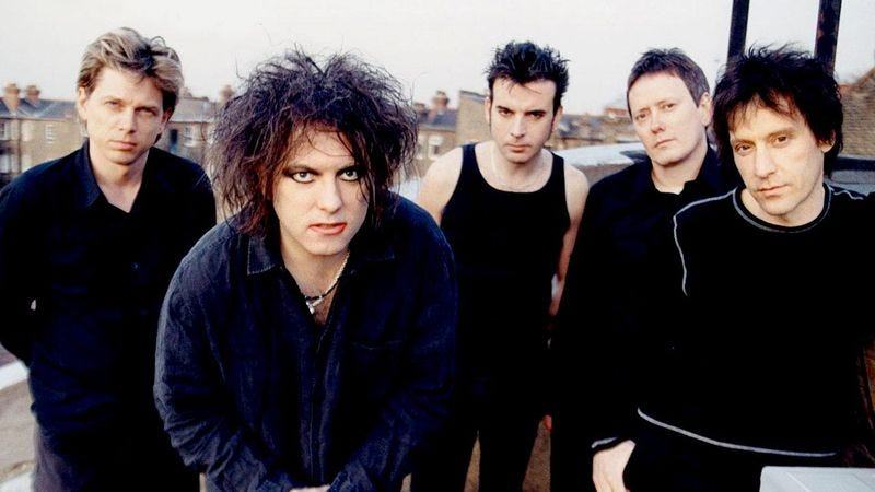 Image result for CURE, BAND