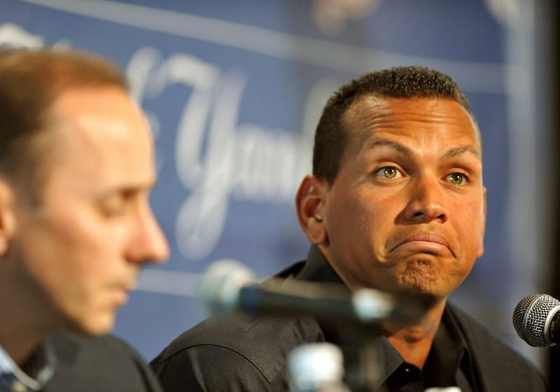 "Illustration for article titled Brian Cashman: A-Rod ""Should Just Shut The Fuck Up"""