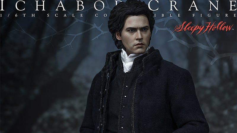 Illustration for article titled Hot Toys' Ichabod Crane Perfectly Captures Depp's Perpetual Confusion