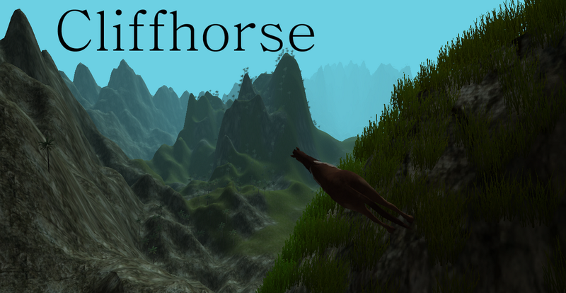 """Illustration for article titled El nuevo juego del creador de Minecraft es un """"simulador"""" de caballos"""