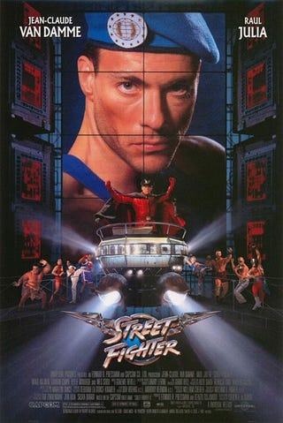 Illustration for article titled Street Fighter: The (Sucky) Movie Gets A Blu-Ray Release