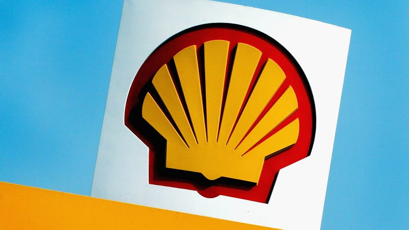 The iconic Shell logo
