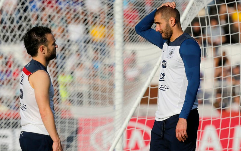 Illustration for article titled Transcript: Karim Benzema Helped Facilitate Blackmail Plot Against Teammate Over Sextape
