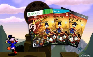 Illustration for article titled DuckTales: Remastered Physical Copies heading to stores on 11/12