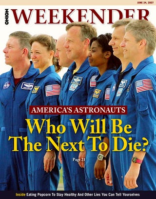 Illustration for article titled America's Astronauts: Who Will Be The Next To Die?