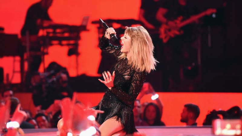 Taylor Swift topples Adele's Vevo record - with hours left to spare