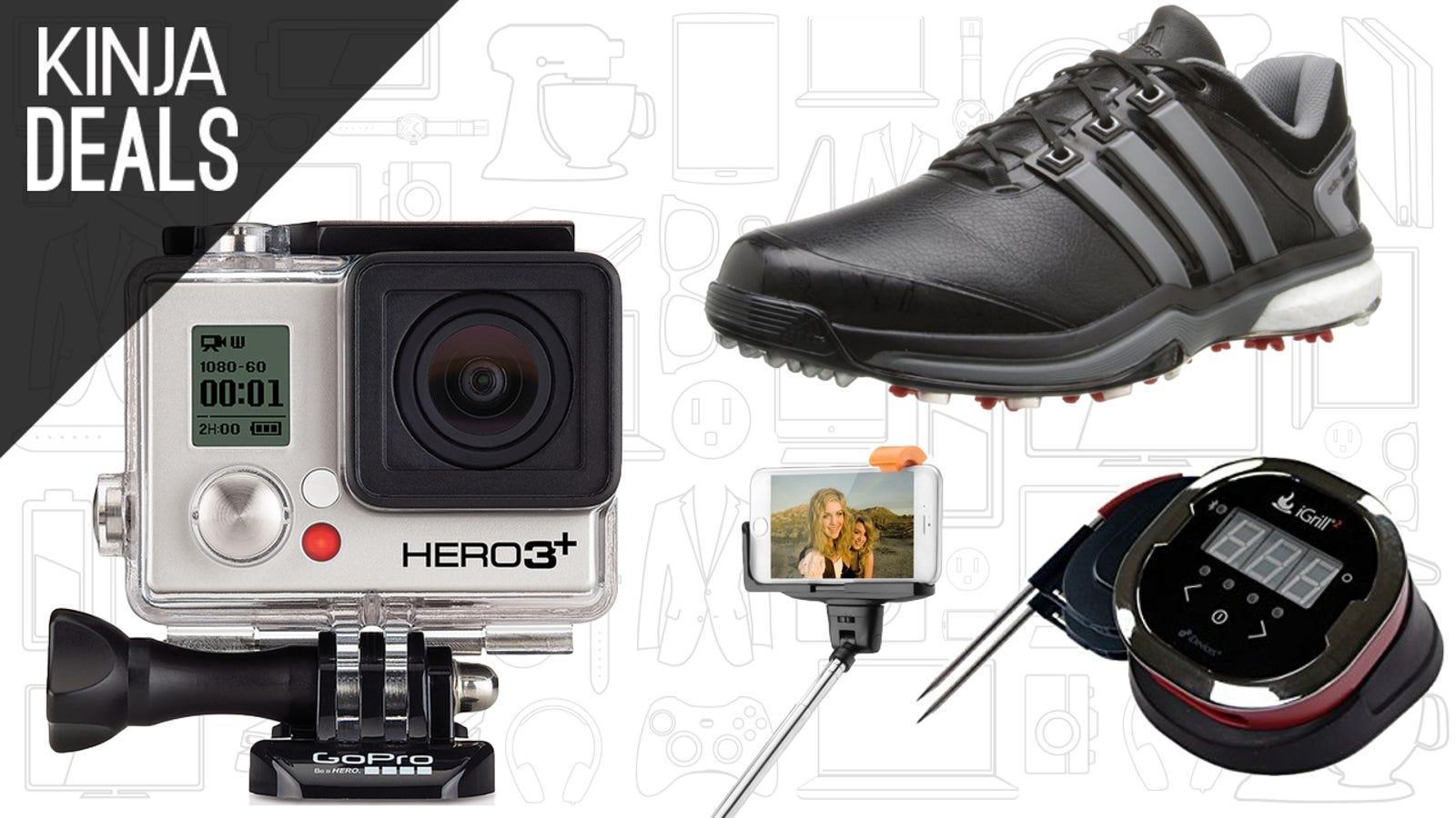 Saturdays Best Deals Cheap Gopros Adidas Shoes 5 Selfie Stick