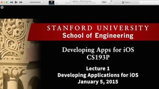 Stanford's Developing iOS 8 Apps with Swift Course Is Now Available