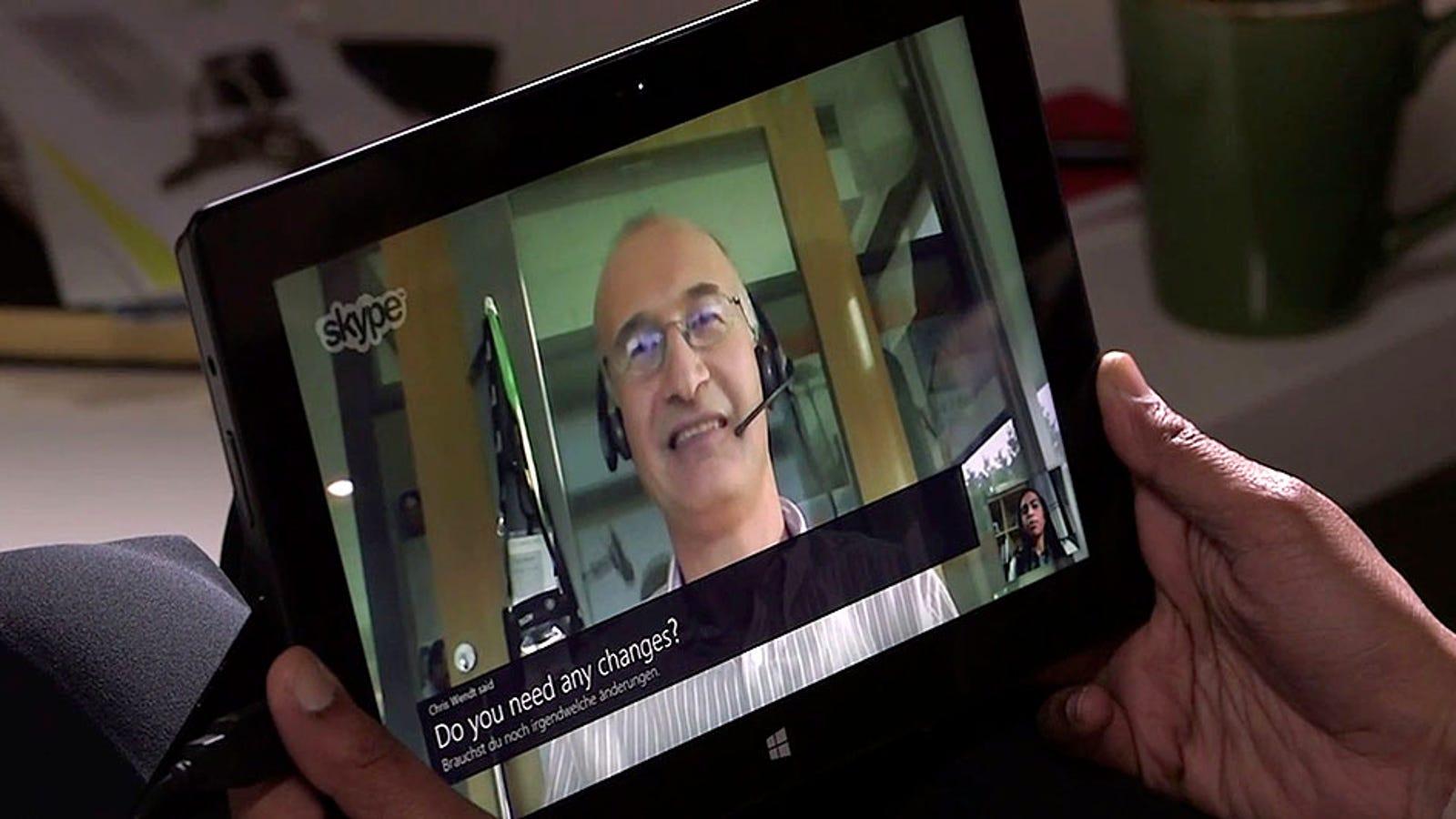 Skype permitirá hablar en otro idioma con un traductor en tiempo real