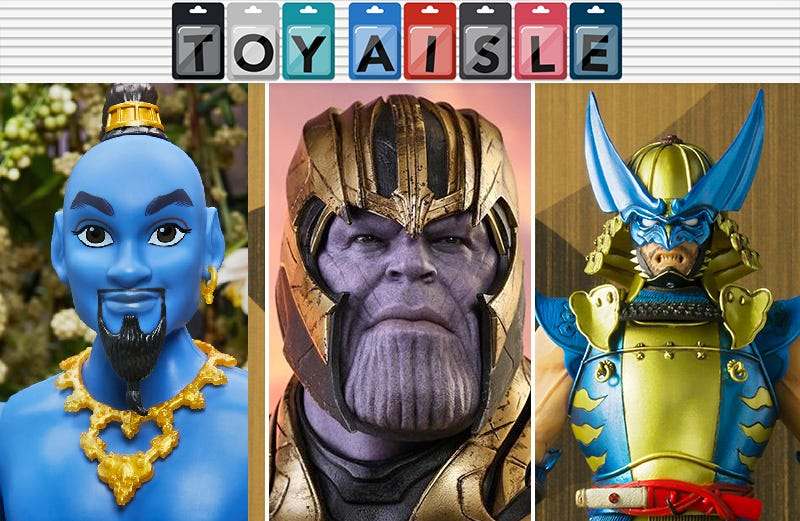 Illustration for article titled Thanos Gets a Suitably Smug Avengers: Endgame Figure, and More of the Most Triumphant Toys of the Week
