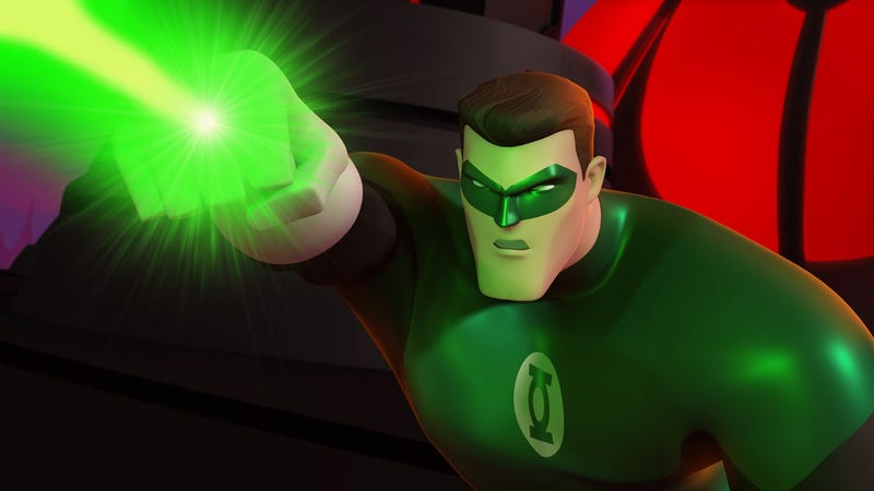 Illustration for article titled The Animated Green Lantern: A Non-Stop Joy Ride