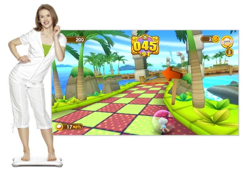 Illustration for article titled Is Super Monkey Ball Rolling Onto Wii Balance Boards?