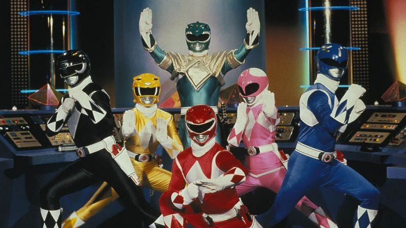 Illustration for article titled Mighty Morphin Power Rangers to get a new movie franchise brand enhancement