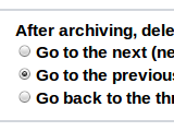 Illustration for article titled Set Gmail to Auto-Advance to Another Message After Archiving or Deleting