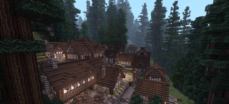Illustration for article titled El mundo de juego más grande de Minecraft ocupa 5.200 km²