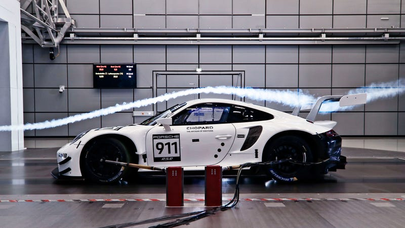 Porsche's New Race Car Says No to Turbos and Yes to Side Exit Exhaust