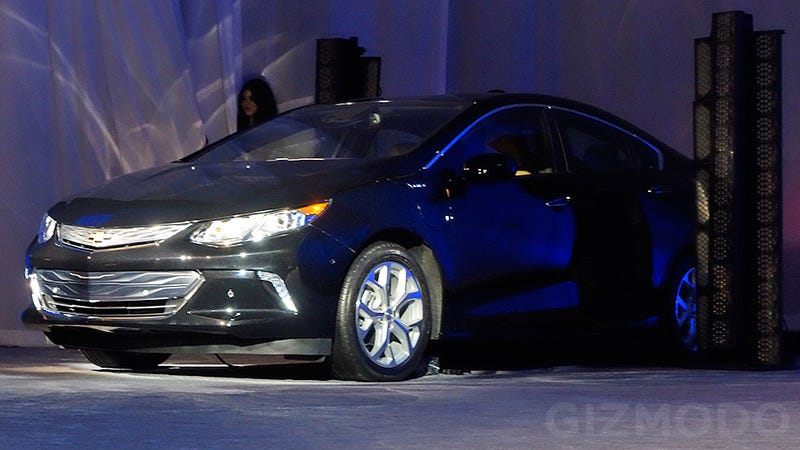 Illustration for article titled The New Chevy Volt First Look: Less Concept, More Sedan