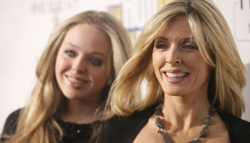 Donald Trump's Ex Marla Maples Can't Afford a Hairstylist for the Inauguration
