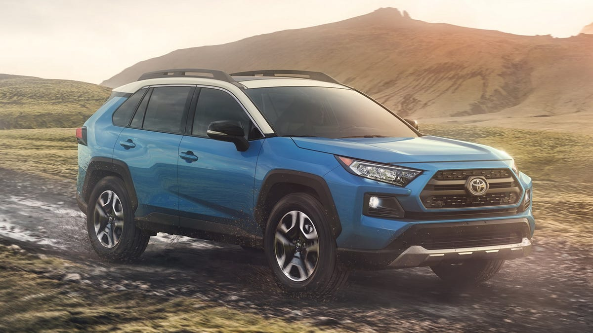 The 2019 Toyota Rav4 Gets Tough