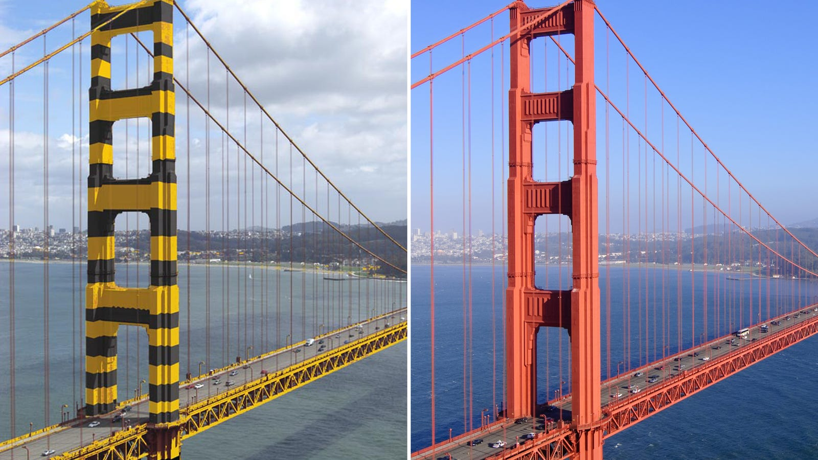 The Golden Gate Bridge Almost Ended Up With A Bumble Bee