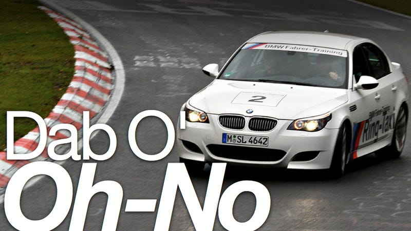 Illustration for article titled BMW's M3 Nürburgring Taxi is in, Sabine Schmitz is out