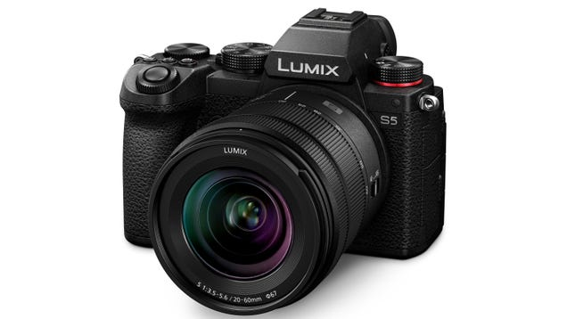 The Lumix S5 Is Panasonic s Lightest and Most Compact Full-Frame Mirrorless Camera Yet
