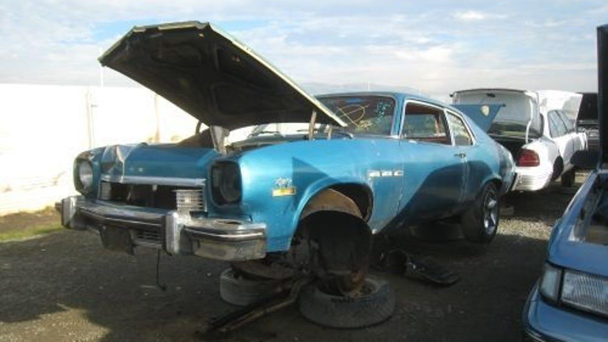 '74 Buick Apollo Isn't A Nova, Crusher Doesn't Care