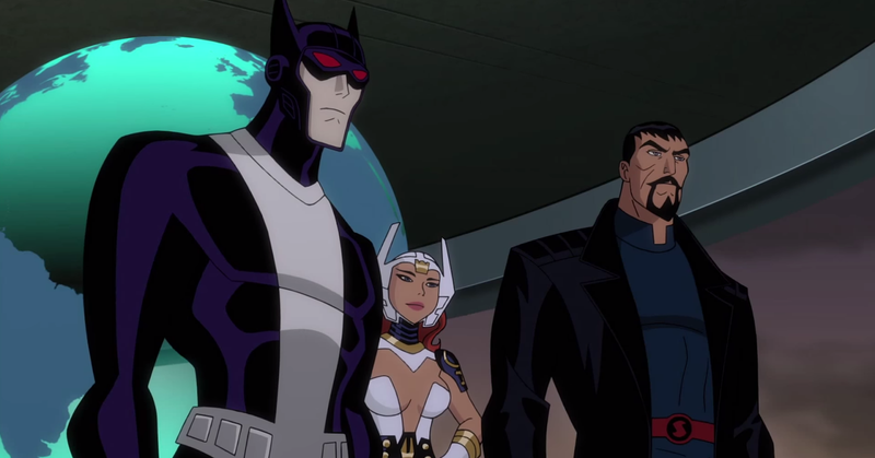 Illustration for article titled Our First Taste of The Darkest Justice League Cartoon Ever
