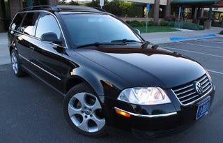 Illustration for article titled For $11,000, This 2005 VW Passat TDi Is Shaken AND Stirred!