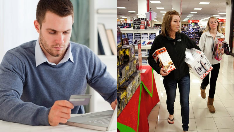 Illustration for article titled Online Shopping vs. In-Store Shopping