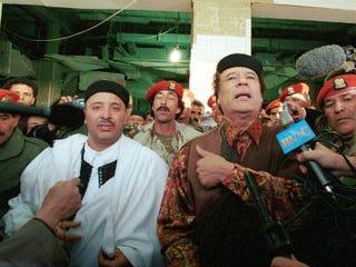 Abdel Basset Ali al-Megrahi (left) (Courtney Kealy Collection/Getty Images)