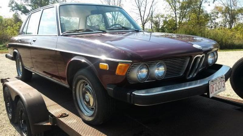 Illustration for article titled Could You Find $1,500 For This Barn-Find 1974 BMW Bavaria?