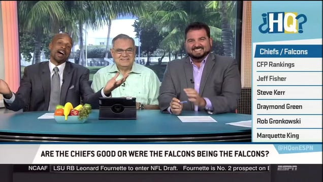 Bomani Jones Treats Us To A Litany Of Atlanta Falcons Failure